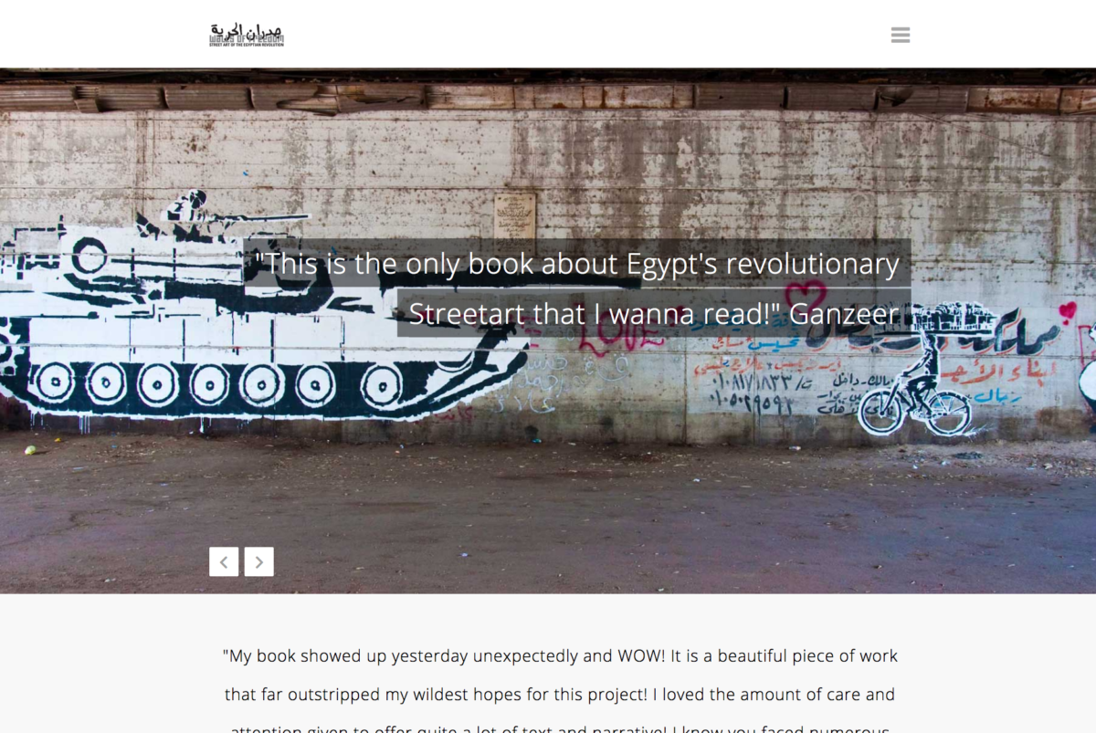 Walls of Freedom: Street Art of the Egyptian Revolution