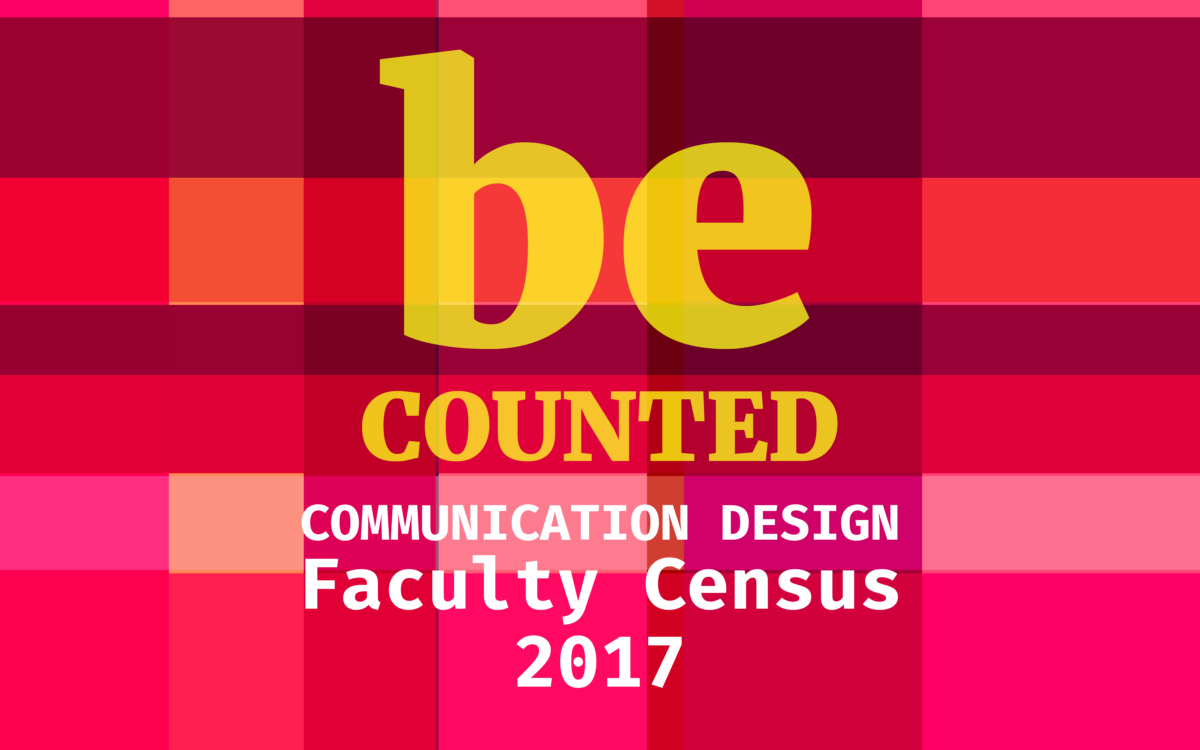 Communication Design Faculty Census 2017