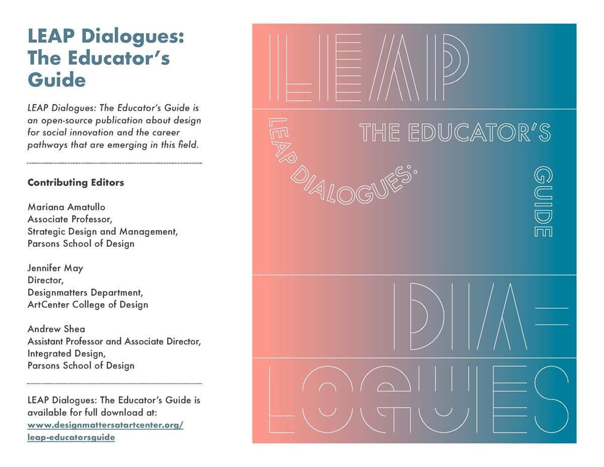 LEAP Dialogues: The Educators Guide
