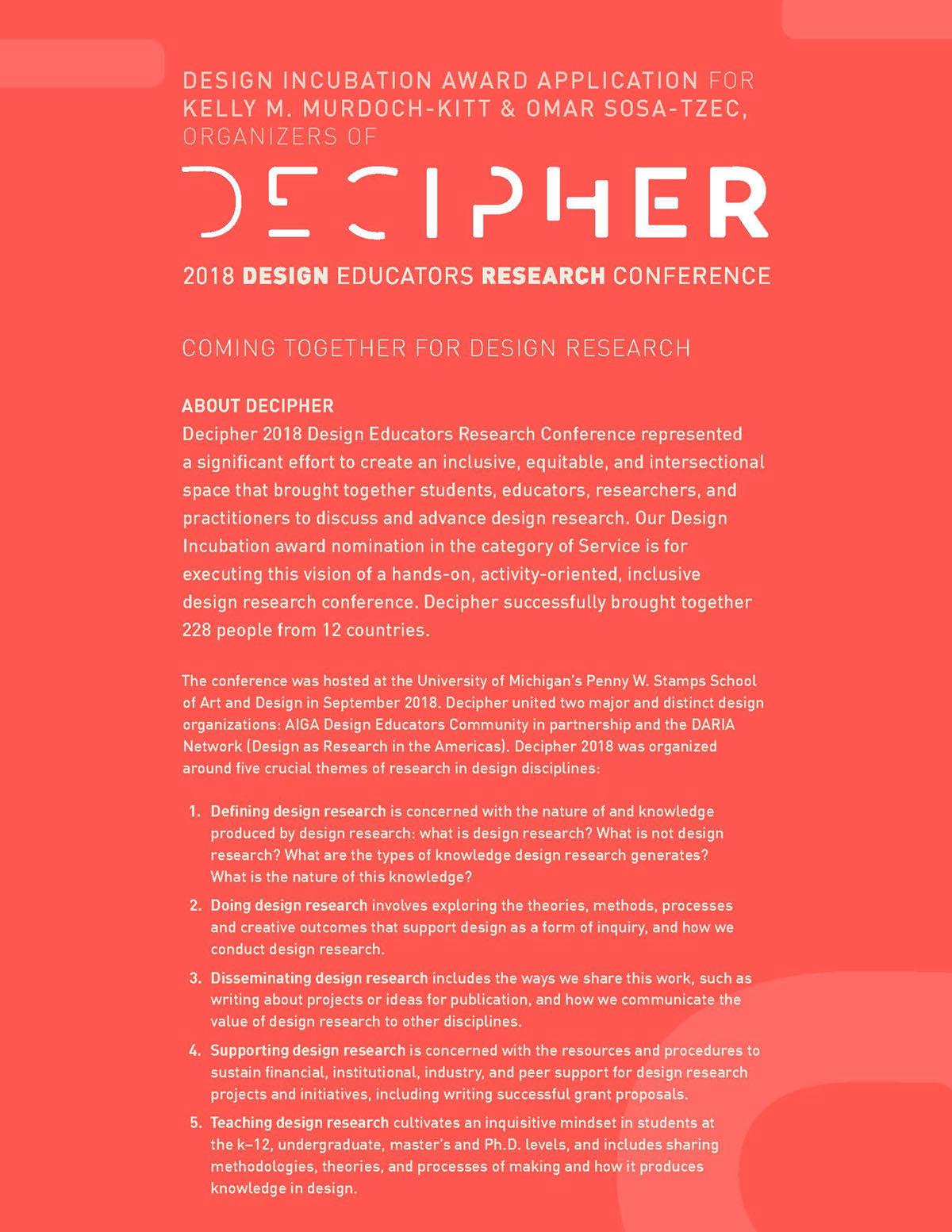 Decipher 2018