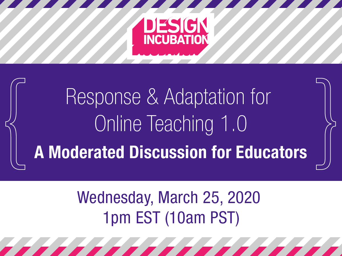Response and Adaptation for Online Teaching 1.0