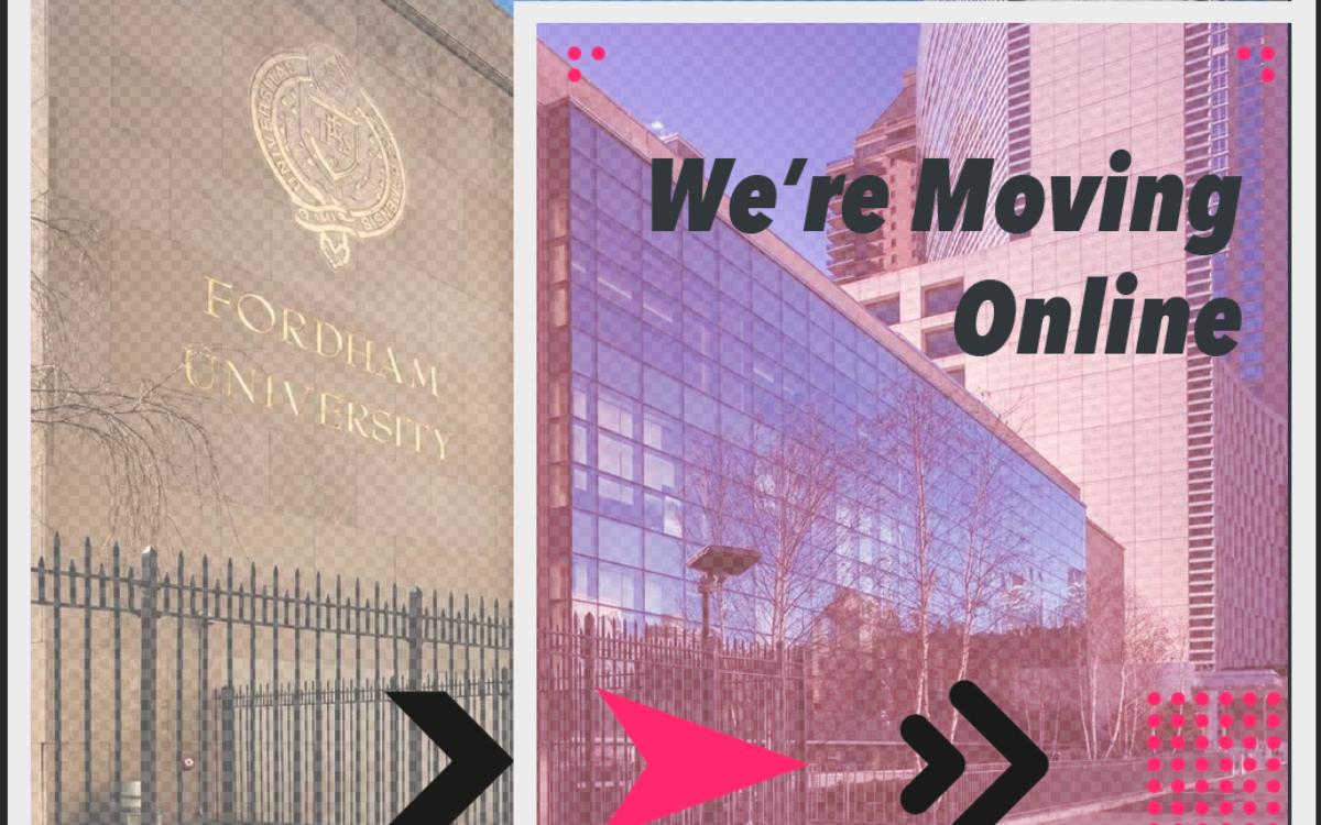 Design Incubation Colloquium 6.3: Fordham University is moving Online!