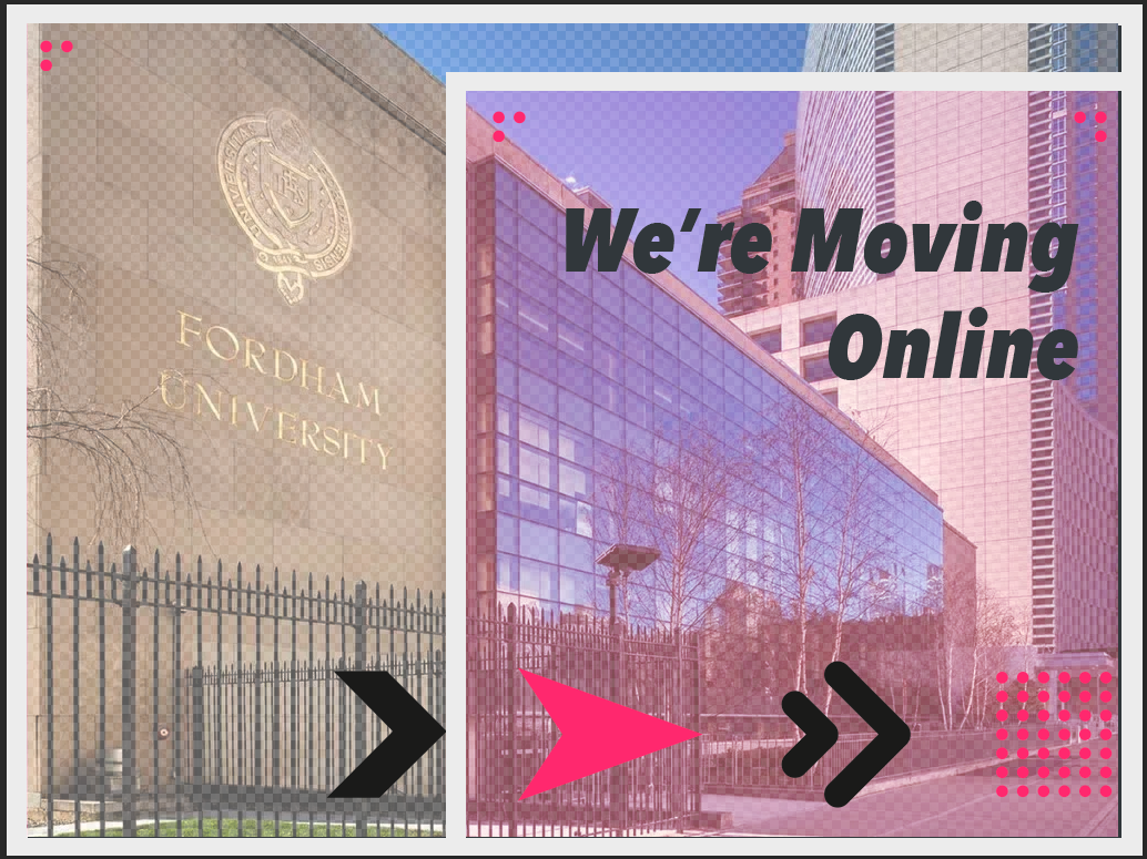 Design Incubation Colloquium 6.3: Fordham University is moving Online!