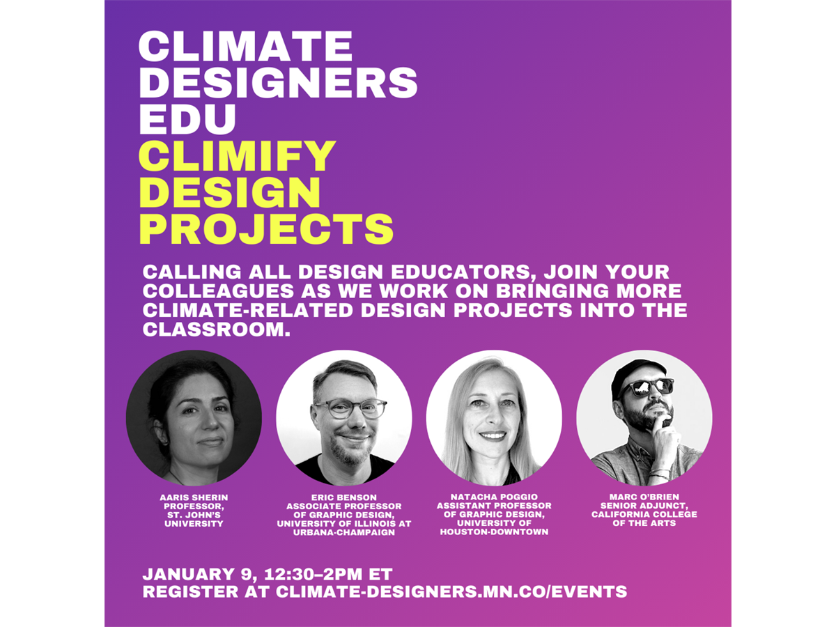Climate Designers EDU: Climify Design Projects