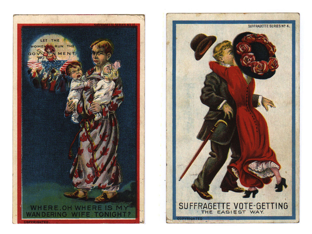 Feminine Archetypes on Women's Suffrage Postcards as Agents of Propaganda