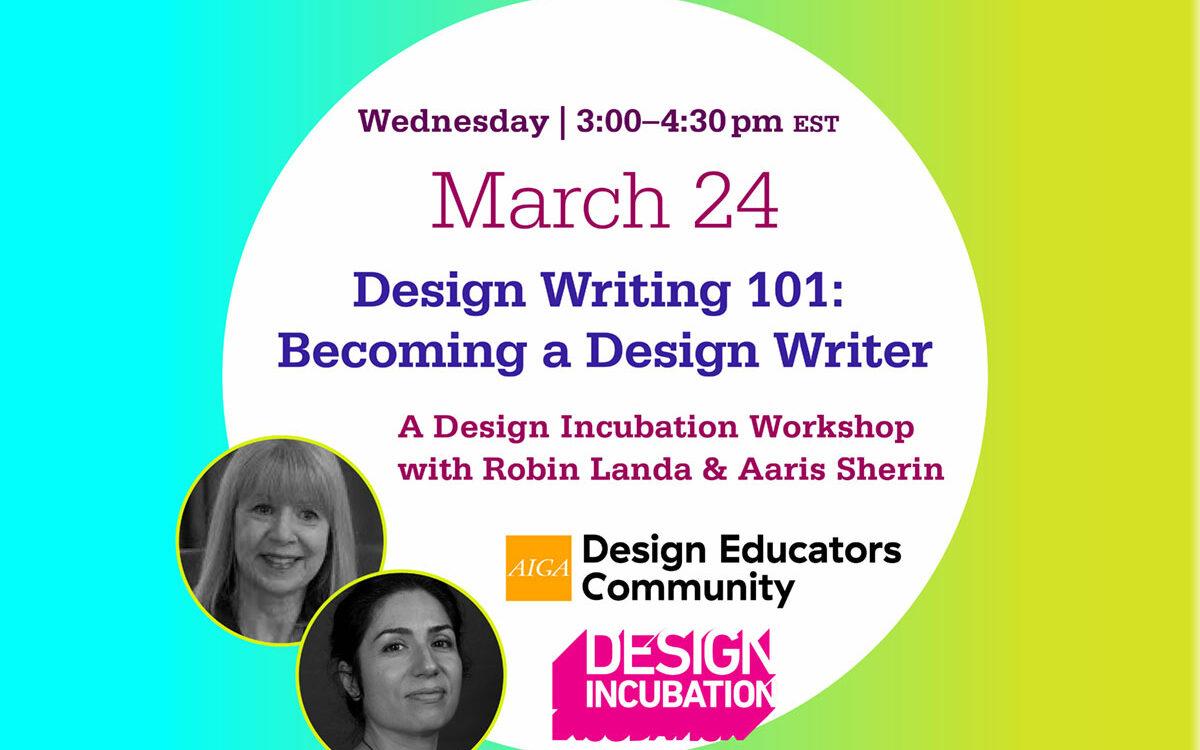Design Writing 101: Becoming a Design Writer