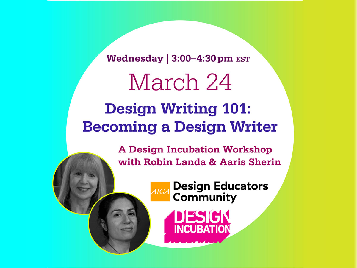 Design Writing 101: Becoming a Design Writer