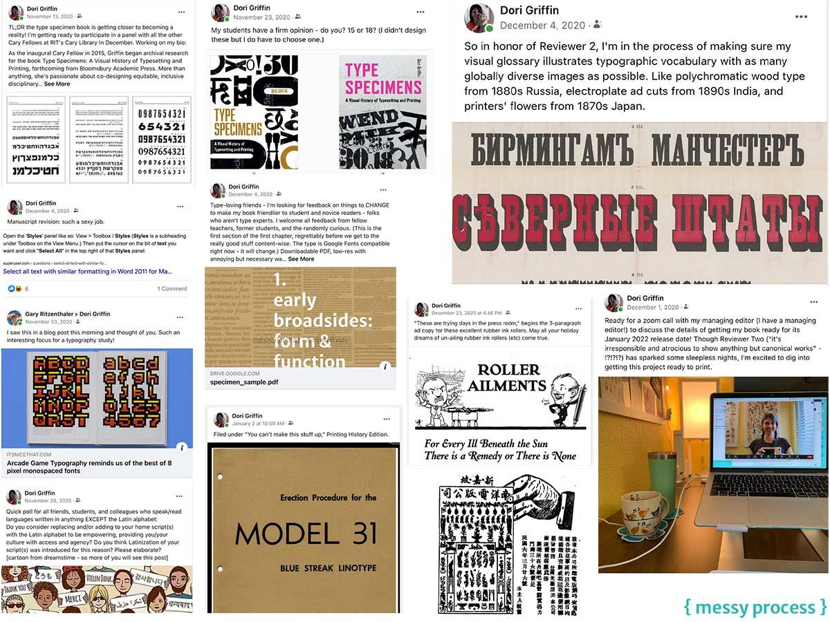 Social Media as Design-Writing Process Tool